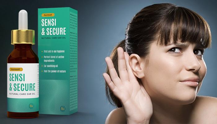 Auresoil Sensi & Secure: inovatívna kúra, ktorá 100% obnovuje zdatný sluch!