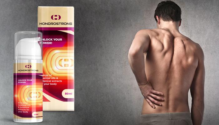 Hondrostrong: je krém na bolesť kĺbov, artritídy a artrózy