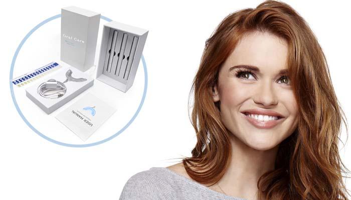 Sada na bielenie zubov OralCare: snehovo biely a oslnivý úsmev