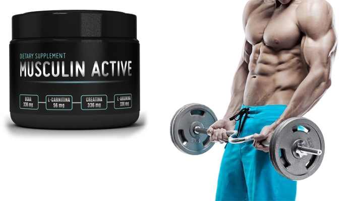 Musculin Active: získate 10 kg svalov za mesiac!
