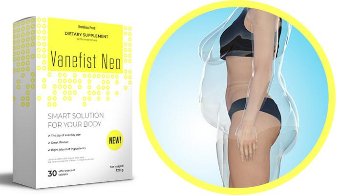 Vanefist Neo pre chudnutie: spaľujte tuk bez námah a stresu