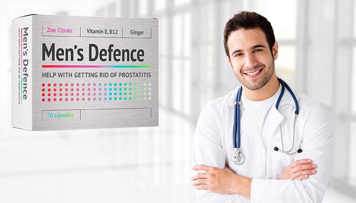 Men's Defence: profesionálny prípravok proti prostatitíde