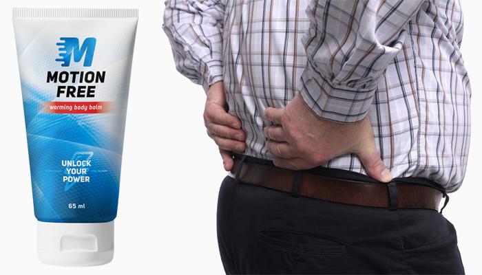 Motion Free pre kĺby: odstráni bolesť spôsobenú chorobami ako artróza alebo osteochondróza
