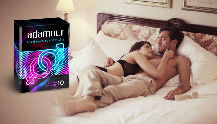 Adamour: tvrdá a trvácna erekcia už po 10 minútach