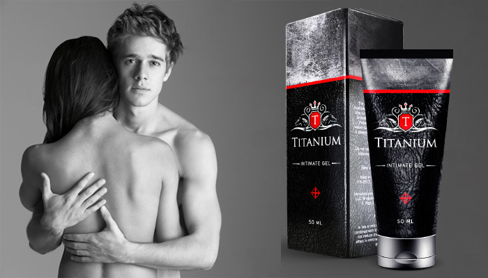 Titanium: gél na zväčšenie penisu