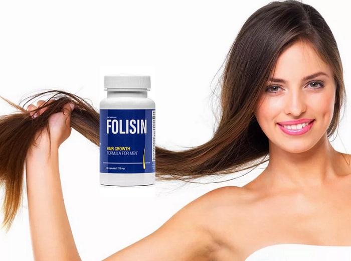 Folisin proti vypadávaniu vlasov: vaše vlasy budú husté a zdravé!
