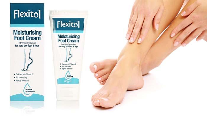Flexitol: hydratačný krém na nohy