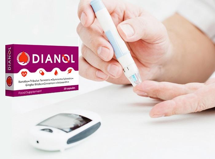 DIANOL z cukrovky: stabilizuje hladinu cukru a normalizuje produkciu inzulínu!