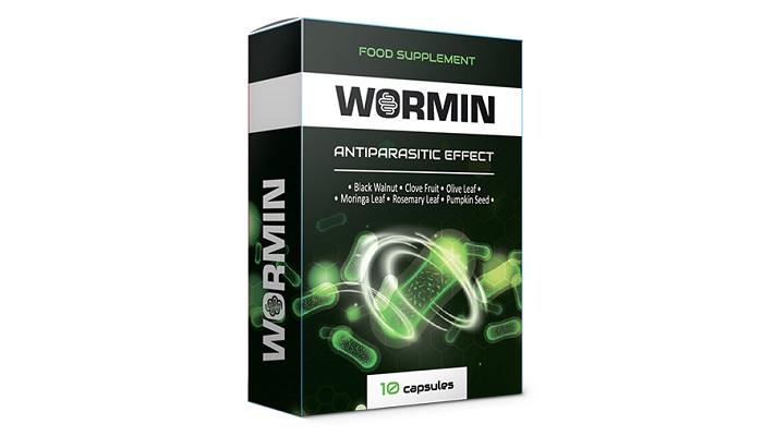 WORMIN od parazitov: uvoľňuje telo zo všetkých druhov parazitov!