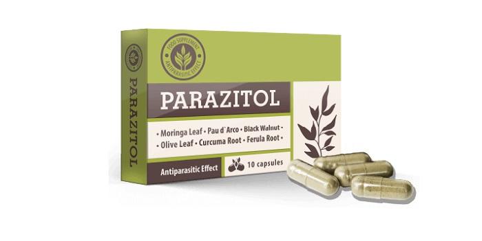 PARAZITOL od parazitov: úplné čistenie tela na 1 kurz!
