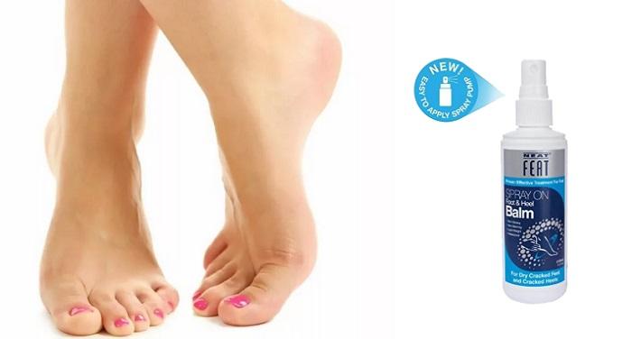 Neat feat huba na nohy a nechty: zdravé a krásne nohy za 30 dní!