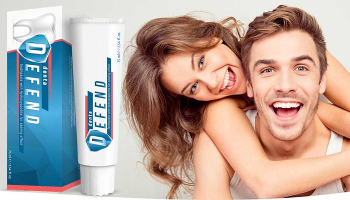 DentaDefend zubná pasta: profesionálna ústna starostlivosť pre silnejšie a belšie zuby