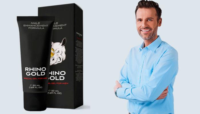 Rhino Gold Gel na zväčšenie penisu: pozoruhodná veľkosť