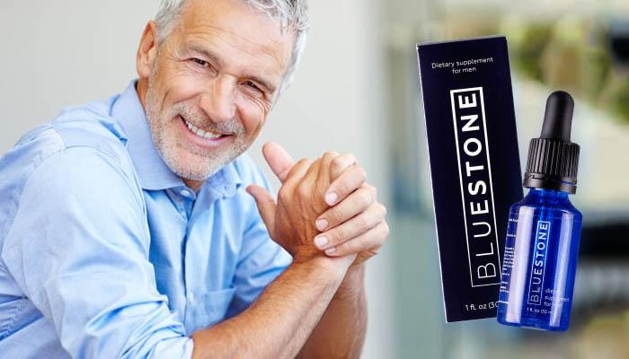 Bluestone pre potenciu: prémiový komplex proti prostatitíde a erektilnej dysfunkcii