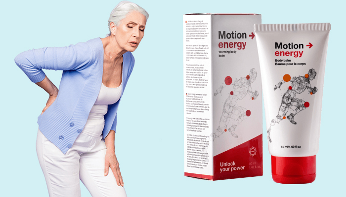 Motion Energy na kĺby: je efektívny liek na osteochondrózu, osteoartritídu a zranenia