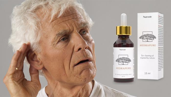 Hedrapure obnoviť sluch: za 28 dní začujete dokonca šepkanie bez strojčeka