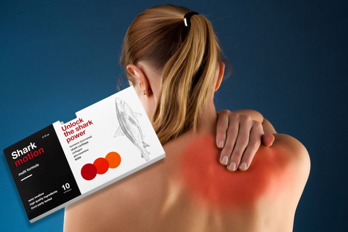 Shark Motion pre kĺby: pre aktívny život bez bolesti kĺbov!