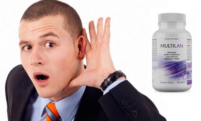 Multilan obnovenie sluchu: za 28 dní začujete dokonca šepkanie bez strojčeka!